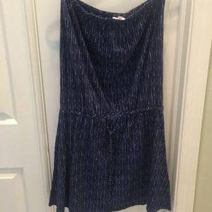 Soft Joie Strapless Mini Dress.